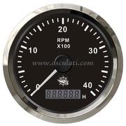 Accessori Nautica Contagiri 0-4000 RPM nero/lucida  [2732602]