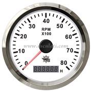 Accessori Nautica Contagiri 0-4000 RPM bianco/lucida  [2732702]