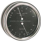 Accessori Nautica Termo/igrometro Barigo Orion quadrante nero  [2808290]