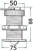 Accessori Nautica Trasduttore Raymarine E26031  [2960012]