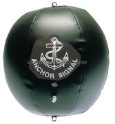 Pallone nero gonfiabile di segnalazione