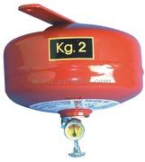 Estintori automatici a pioggia di polvere categorie A B C. Consigliato per scafi fino a 8 metri