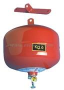 Estintori automatici a pioggia di polvere categorie A B C. Consigliato per scafi fino a 11 metri
