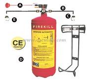 Estintore Firekill con pressostato 3 kg  [3151913]Accessori Nautici