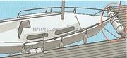 Accessori NauticiParabordo in PVC bianco gonfiabile da pontile