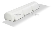 Protezione PVC bianco da pontile