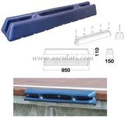 Accessori NauticiProtezione per pontili/banchine in morbido EVA stampato ad iniezione pieno all'interno Blu - Tipo: SISTEMA X