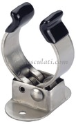 Clip inox per tubi 30/35 mm