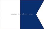 Accessori Nautica Bandiera lettera A 20 x 30 cm  [3544504]