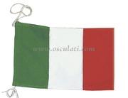 Accessori NauticiBandiera di cortesia Italiana in stamigna di poliestere 20x30  <br/><font color=#962308>Quantità Minima: 3 pezzi (2.49€ al p.zo) </font>