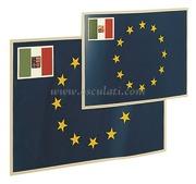 Accessori NauticiBandiera autoadesive dell'UE 15x22 cm