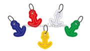 Portachiavi ancora colori misti (confezione 10 Pz assortiti) [3582100]Accessori Nautica