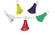 Portachiavi vela colori misti (confezione 10 Pz assortiti) [3582200]Accessori Nautica