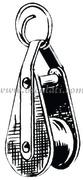 Portachiavi a bozzello  [3582800]Accessori Nautica<br/><font color=#962308>Quantità Minima: 2 pezzi (8.94€ al p.zo) </font>
