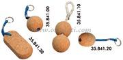 Portachiavi pallina sughero 50 mm  [3584100]Accessori Nautica