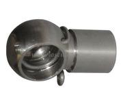 Molla a gas in acciaio inox con testa a sfera
