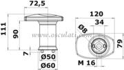 Accessori Nautica Fungo singolo per sistema modulare  [4017602]