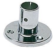 Supporto pulpito diritto 22 mm  [4101200]Accessori Nautici<br/><font color=#962308>Quantità Minima: 2 pezzi (7.21€ al p.zo) </font>