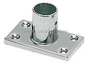 Supporto pulpito 90 gradi 22 mm rettangolare   [4101300]Accessori Nautici<br/><font color=#962308>Quantità Minima: 2 pezzi (7.21€ al p.zo) </font>