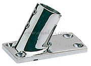 Base inox pulpito 60 gradi 22 mm  [4111122]Accessori Nautici
