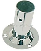 Basetta tonda inox 90 gradi 22 mm  [4113122]Accessori Nautici<br/><font color=#962308>Quantità Minima: 4 pezzi (2.76€ al p.zo) </font>