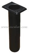 Accessori Nautica Portacanne polipr. quadrato UV stab. nero 230 mm  [4116401]<br/><font color=#962308>Quantità Minima: 4 pezzi (2.12€ al p.zo) </font>