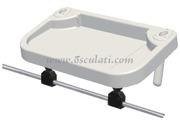 Accessori Nautica Vassoio per tubi pulpito Ø25 mm 850x460 mm  [4116819]