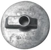 Accessori NauticiAnodo MERCURY /MARINER /MERCRUISERPinna piatta Alpha/Bravo (zinco) Pinna piatta Bravo (rif. orig. 762144)