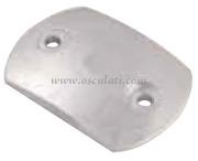 Piastra zinco mm 80x55