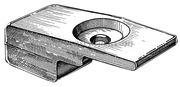 Piastrina per Suzuki 4 tempi 60/140 HP