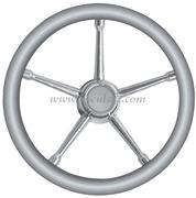 Volante A inox/grigio 350 mm  [4513502]Accessori Nautici