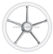 Volante A inox/bianco 350 mm  [4513503]Accessori Nautici