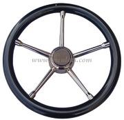 Volante A inox/carbonio 350 mm  [4513504]Accessori Nautici
