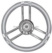 Volante C inox/grigio 350 mm  [4513702]Accessori Nautici