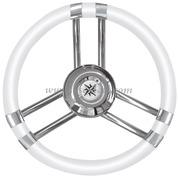 Volante C inox/bianco 350 mm  [4513703]Accessori Nautici