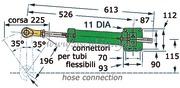 Timoneria idraulica Vetus MT175 singola  [4514010]Accessori Nautica
