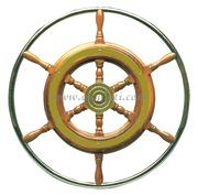 Timone con cerchio inox cm 42  [4516142]Accessori Nautici