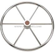 Timone ruota inox 5 razze 600 mm  [4516460]Accessori Nautici