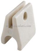 Piastrine nylon per tubi 22 mm