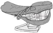 Borsoni per proteggere e stivare il motore fuoribordo Per motori fino: 5 HP