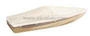 Teloni per ricovero imbarcazioni modello per imbarcazioni con parabrezza e Day Cruiser Lunghezza scafo cm: 430-460