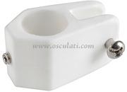 Accessori Nautica Giunto nylon scorrevole 22 mm  [4637703]<br/><font color=#962308>Quantità Minima: 10 pezzi (1.12€ al p.zo) </font>