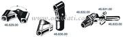 Accessori Nautica Snodo nylon tendine a 90 gradi  [4662900]<br/><font color=#962308>Quantità Minima: 2 pezzi (5.65€ al p.zo) </font>