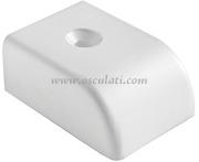 Accessori Nautica Terminale nylon  rotaia  [4678630]<br/><font color=#962308>Quantità Minima: 4 pezzi (2.18€ al p.zo) </font>