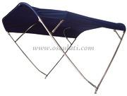 Capottina parasole pieghevole SHADE MASTER FLY INOX DEEPTH, 4 archi