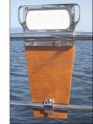 Accessori Nautici. Supporto motore per montaggio sui pulpiti di poppa - Portata max kg 45