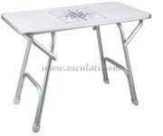 Tavolo rettangolare pieghevole Misure piano mm: 88x44
