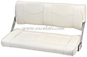 Accessori NauticiSedile Reverso con schienale ruotante - Reverso doppio bianco