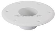 Accessori Nautica Base alluminio bianco pavimento per tavolo  [4841612]<br/><font color=#962308>Quantità Minima: 2 pezzi (6.51€ al p.zo) </font>