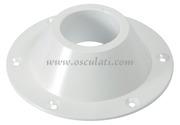 Accessori Nautica Base alluminio bianco superiore per tavolo  [4841613]<br/><font color=#962308>Quantità Minima: 2 pezzi (6.51€ al p.zo) </font>